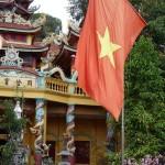Fahne von Vietnam