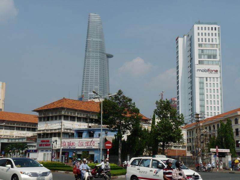 Blick auf Ho Chi Minh Stadt