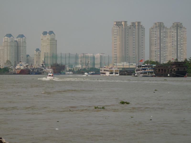 Blick auf Ho Chi Minh
