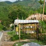 Straße in Yen Bai